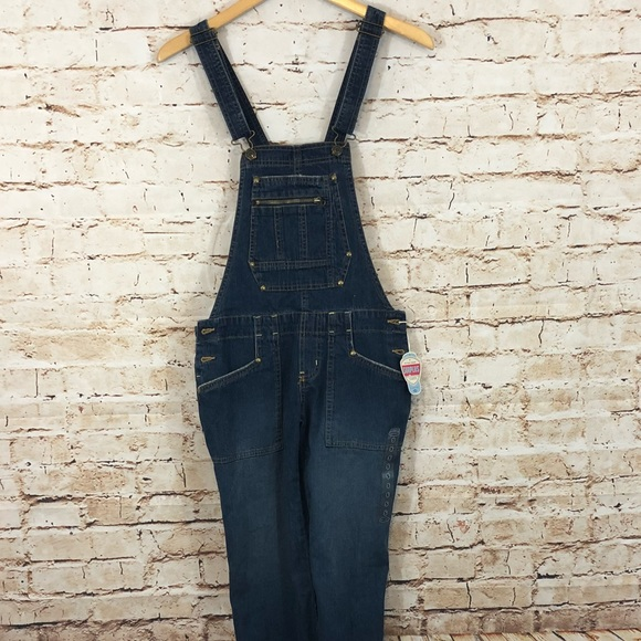 Old Navy Denim - OLD NAVY Denim Overalls bib small surplus new